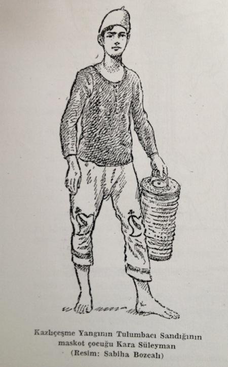 tulumbaci maskot