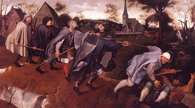 Körler Meseli (1568), Pieter Bruegel