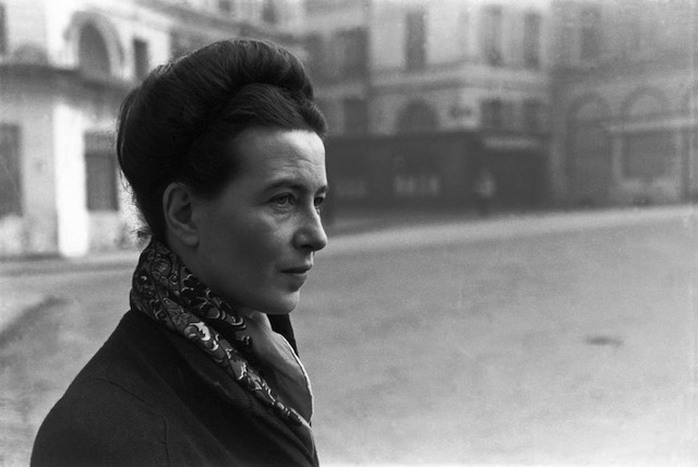 Simone de Beauvoir. Fotoğraf: Henri Cartier-Bresson, Paris, Fransa, 1945. © Henri Cartier-Bresson/Magnum Photos