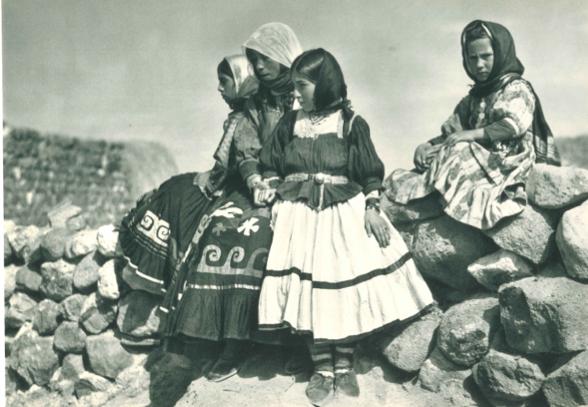 Doğu Anadolu'da köylü kızları