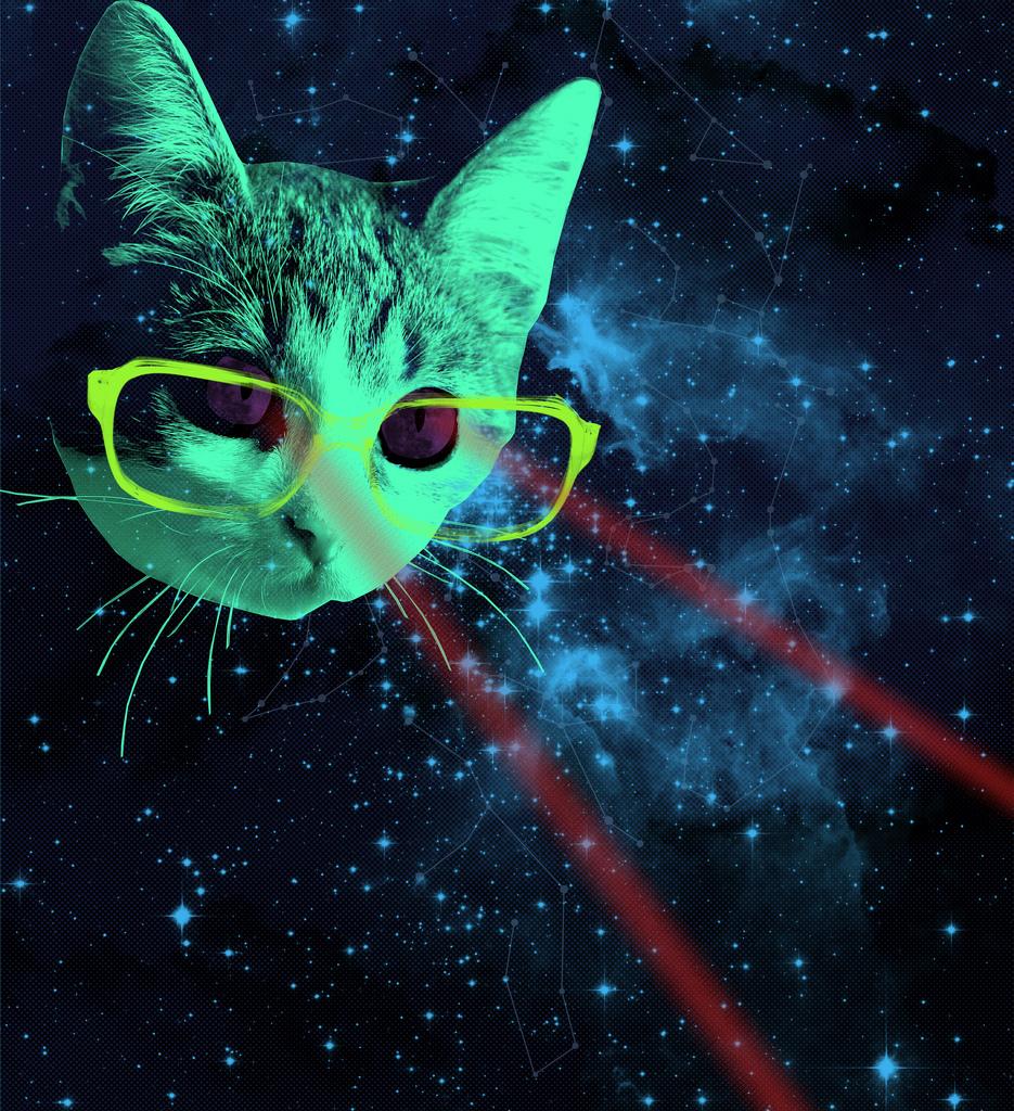 YGelecek Pesimizmi: Lazeri Sen Kediye Tutunca İyi, Uzaylılar Sana Tutunca Kötü?