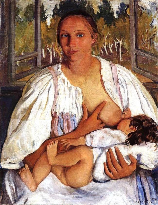 1912_süt anne ve bebek