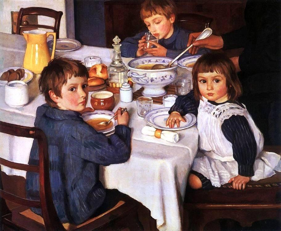 1914_kahvaltı masasında