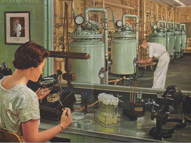 YAtom Bombası, Soğuk Savaş ve Bilimde Kadınlar