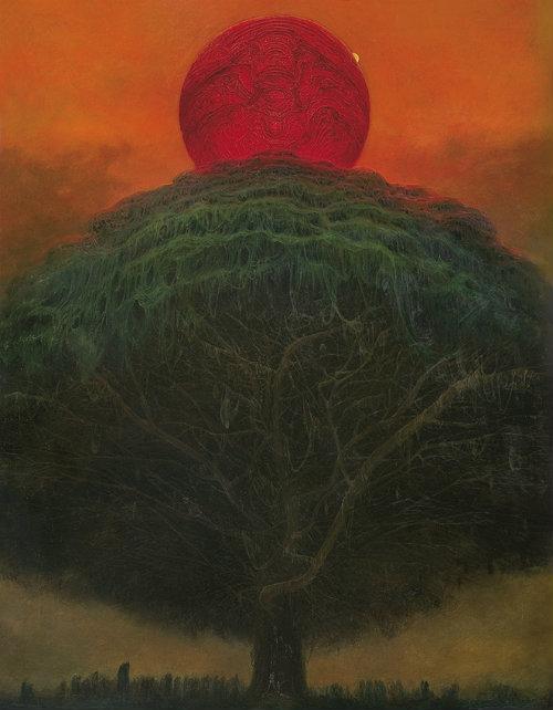 Zdzisław Beksiński - Untitled (1975)