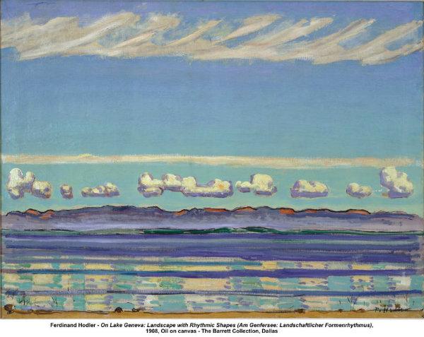 Ferdinand Hodler - Cenevre Gölü (1908)