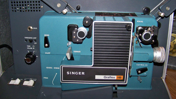 singer-film-projector