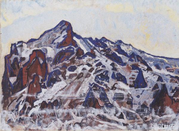 Ferdinand Hodler - Wetternorn (1912)