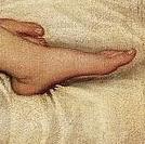 titian-venus-urbino-ayak
