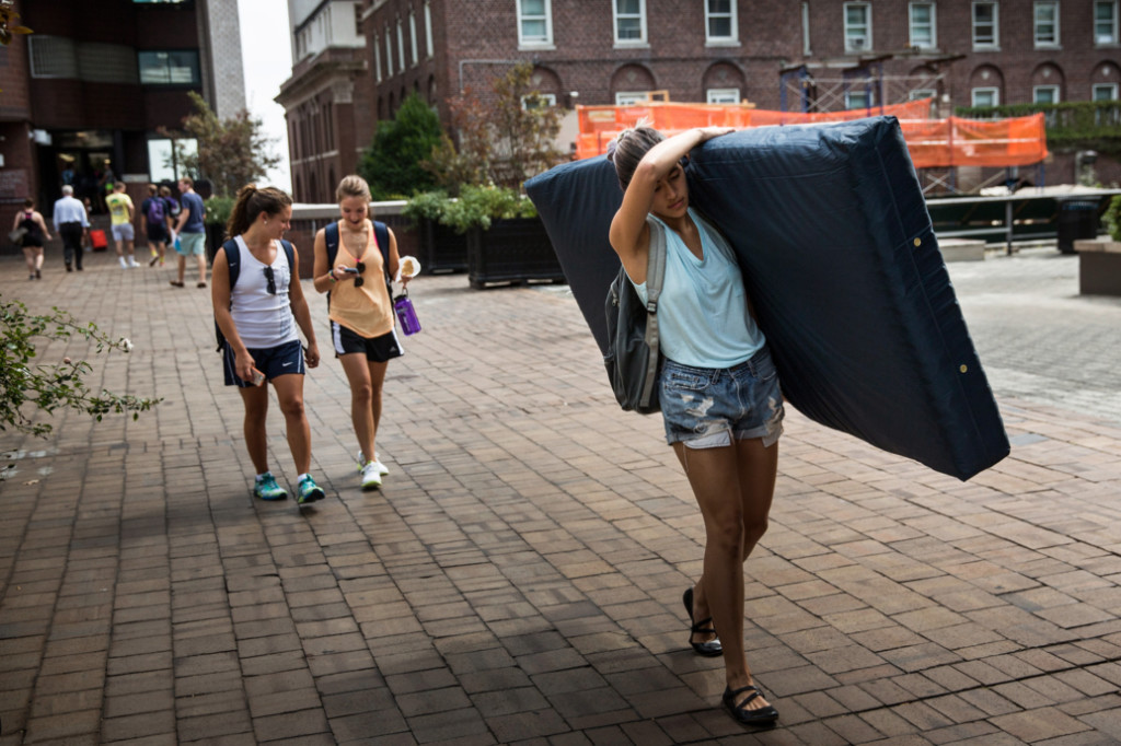 Columbia Student Carries Mattress Around Campus Until Her Alleged Rapist Is Expelled