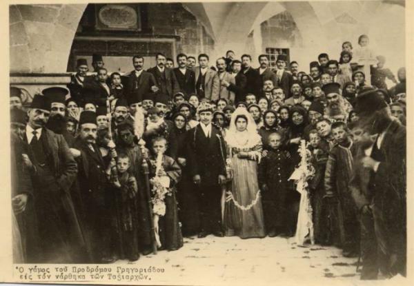 19. yy'dan bir düğün fotoğrafı. İbrahim Uzun'un dijital arşivinden
