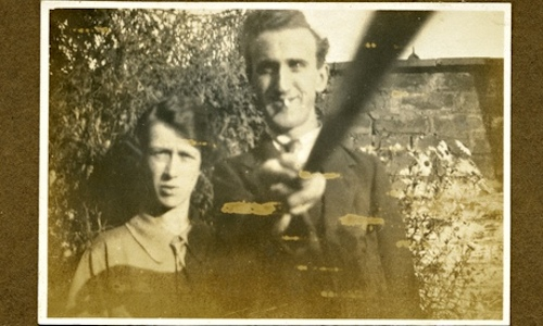 Arnold and Helen Hogg's selfie, taken in 1926