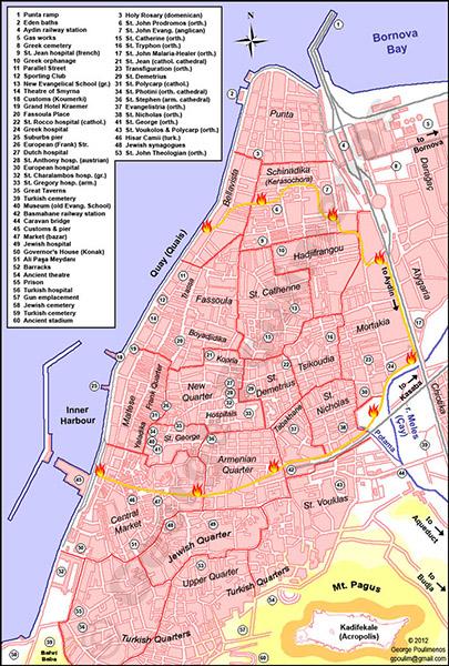 YKartpostallarda Kalan Kozmopolit İzmir