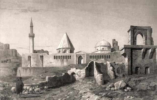 Selçuklu Sarayı yıkıntıları ve Alâeddin Keykubad Camii