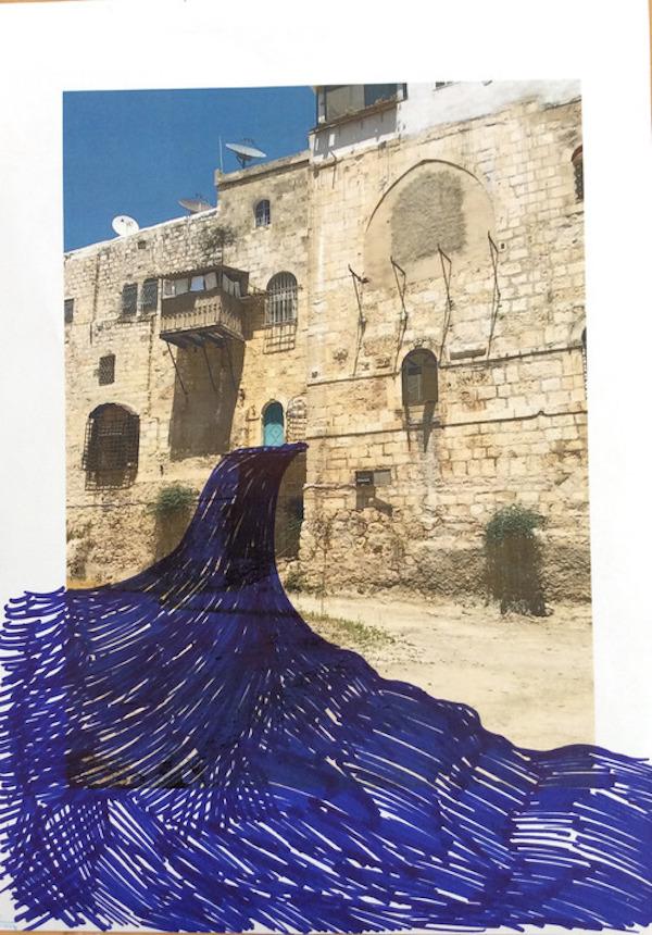 Hera Büyüktaşçıyan, taslak 2, dijital baskı