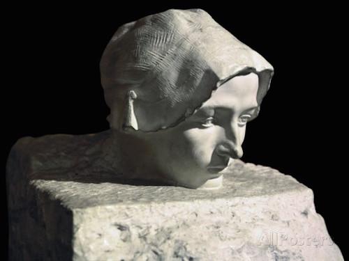 Rodin, Düşünce-Camille Claudel'in bitmemiş portresi
