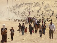 startling-photos-show-yazidis-under-siege-by-isis-fleeing-into-syria-by-the-thousands