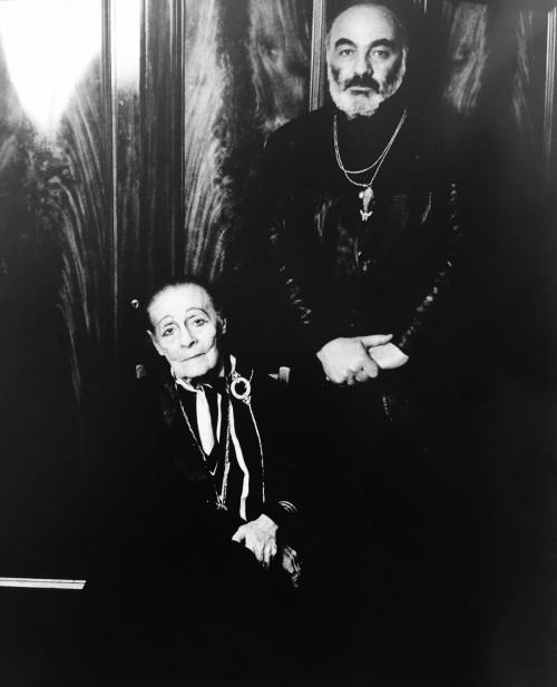 Lilya Brik ve Parajanov Fotoğraf: Valeri Plotnikov