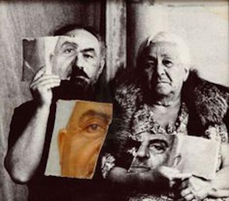 Kıskançlıktan yırtıp attığım babamın portresi 1983-83
