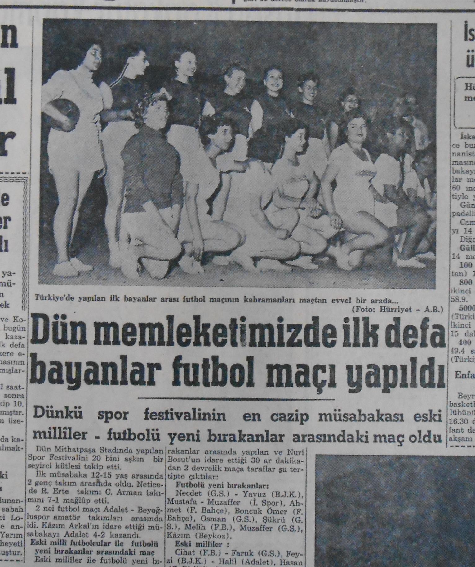 5 Temmuz 1954 Hürriyet