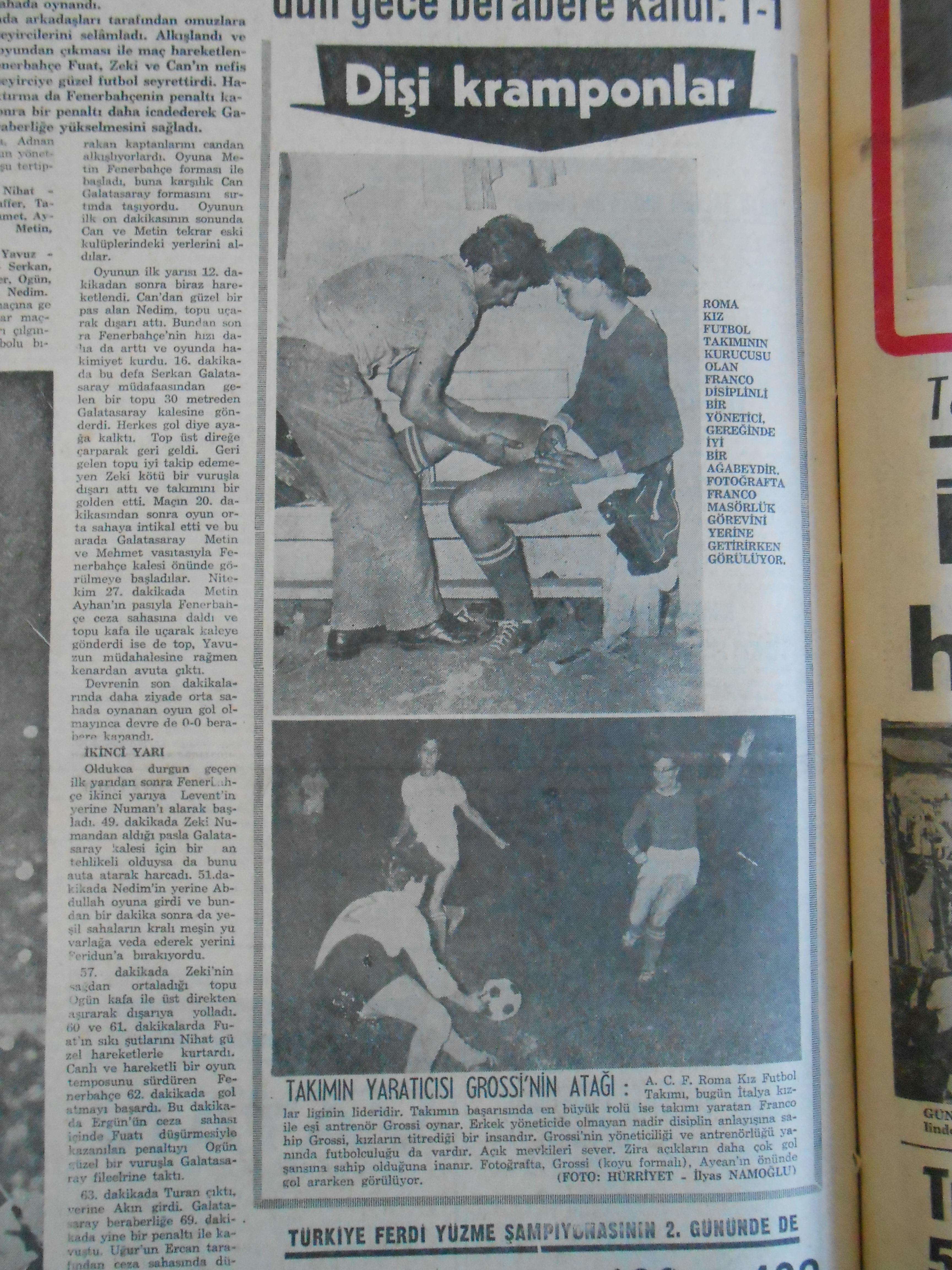 Hürriyet, 24 Ağustos 1969