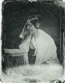 Margaret Fuller. John plumbe tarafından 1846'da dagerreyotipi ile basılmış