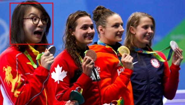 YFu Yuanhui Olimpiyatlarda Ortalığı Karıştırırken