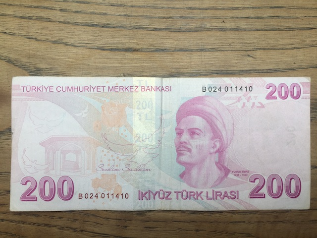YSevelim Sevilelim Banknotu