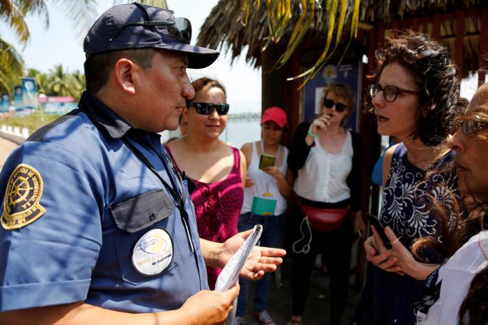 YKürtaj Gemisi Guatemala'da