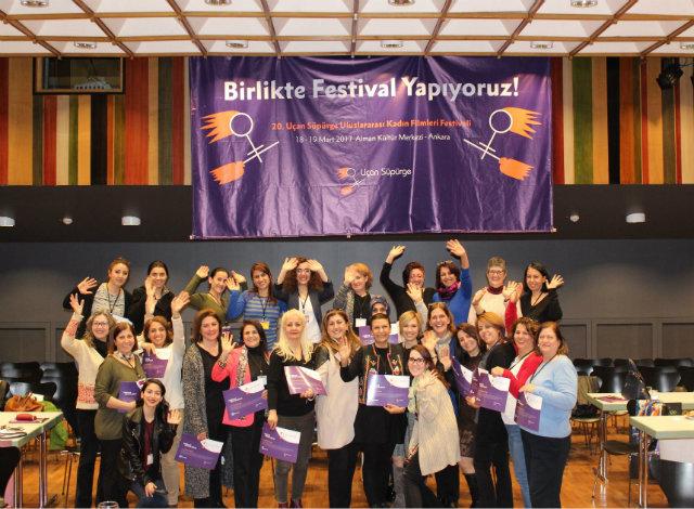 YUçan Süpürge Kadın Filmleri Festivali 20 Yaşında
