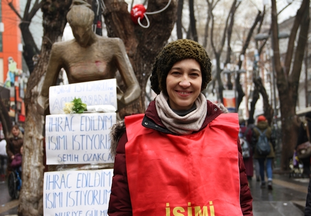 "YInterview with Nuriye Gülmen: ""I have more hope today than I did on the first day"""