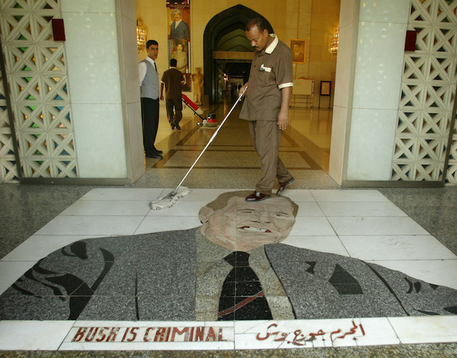 YBaba, Oğul ve Fayans: Bir Bağdat-Beyaz Saray Misilleşmesi