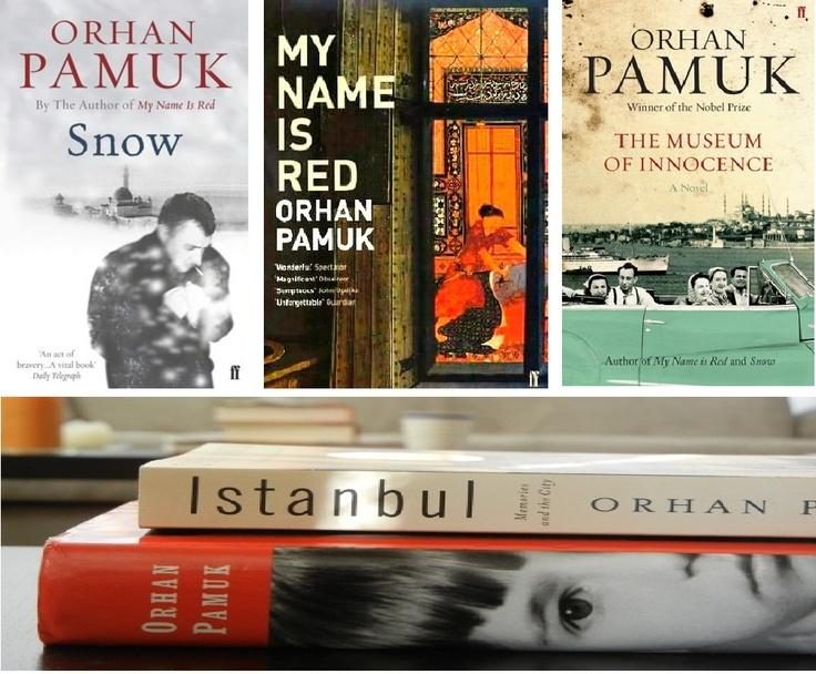 YOrhan Pamuk'u Bezdirmişsiniz
