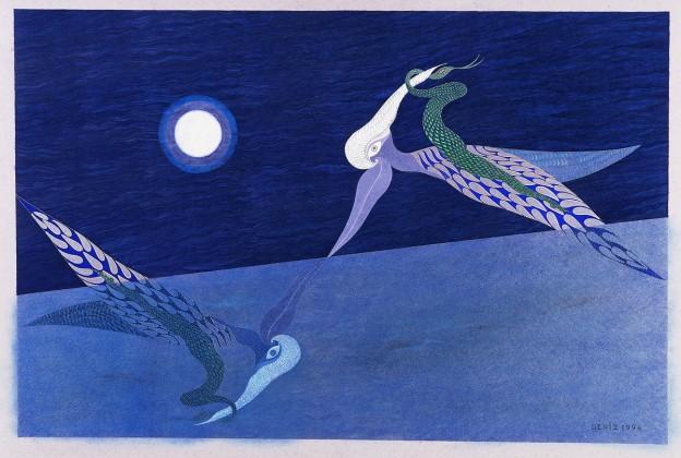 YMasal Ressamı Deniz Bilgin