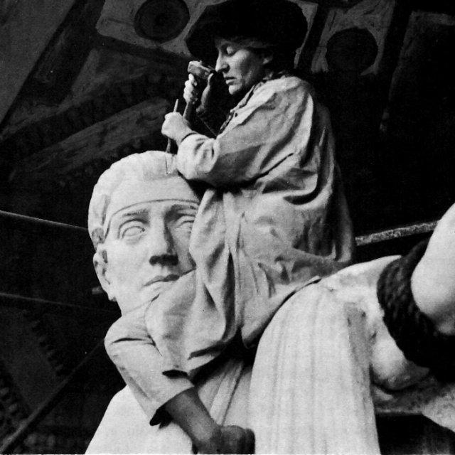 YMalvina Hoffman ve İnsanlık Heykelleri