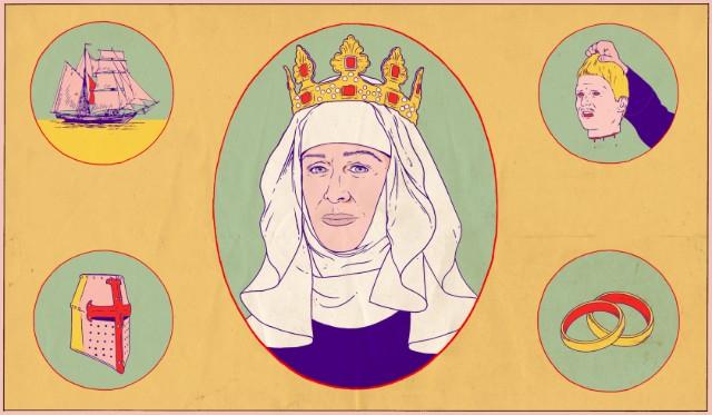 YAnne Thériault ve Bednam Kraliçeler