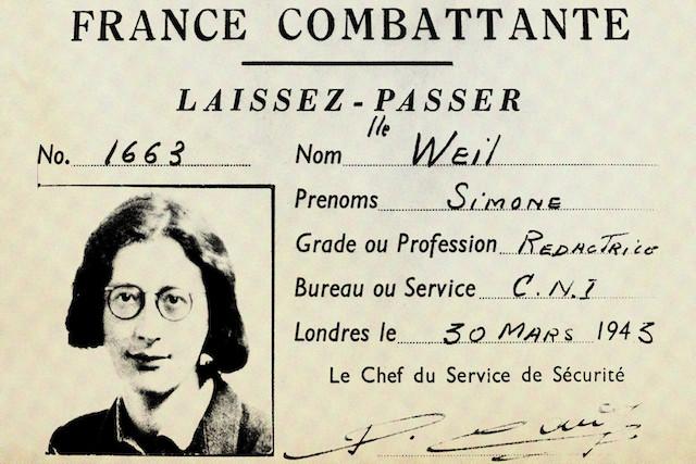 """Y""""Ön yargıdan azade bir isim"""": Simone Weil"""